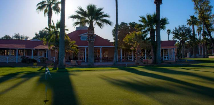 San Marcos Golf Resort in Chandler, Arizona, features a par-72, 6,640-yard picturesque golf course.